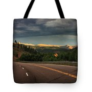 Sometime Life Throws You Curves, Enjoy The Ride Tote Bag