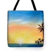 Sometimes I Wonder - Vertical Sunset Tote Bag