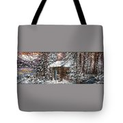Sometimes In Winter Tote Bag