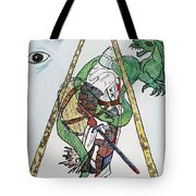 Sometimes The Dragon Wins Tote Bag