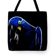 Somewhat Blue Tote Bag