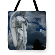 Somewhere Between Heaven And Earth Tote Bag