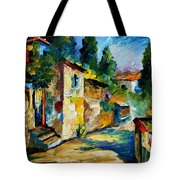 somewhere in Israel Tote Bag