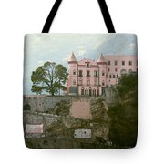 Somewhere In Italy Tote Bag