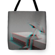 Somewhere It's Raining - Use Red-cyan 3d Glasses Tote Bag