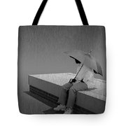 Somewhere Its Raining Tote Bag