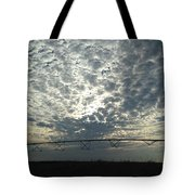 Somewhere Over The Pivot Tote Bag