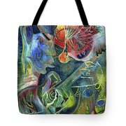 Song Of Borrowed Time Tote Bag