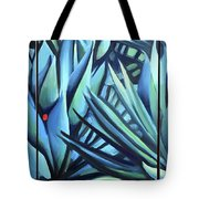Song Of Dark Leaves Tote Bag