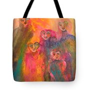 Song Of Our Heart Tote Bag