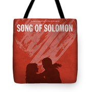 Song Of Solomon Books Of The Bible Series Old Testament Minimal Poster Art Number 22 Tote Bag
