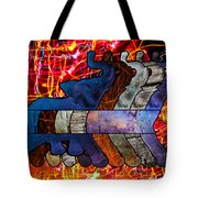 Song Of The Elephants Tote Bag by Kyle Willis