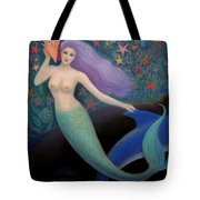 Song Of The Sea Mermaid Tote Bag