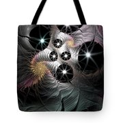 Song Of The Stars Tote Bag