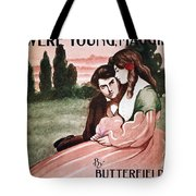 Song Sheet Cover, C1895 Tote Bag