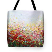 Songs Of Spring 3 Tote Bag
