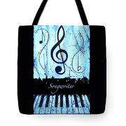 Songwriter - Blue Tote Bag