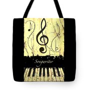 Songwriter - Yellow Tote Bag