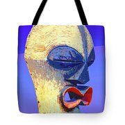 Songye Kifwebe Mask Tote Bag