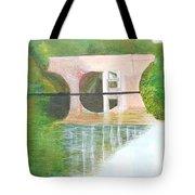 Sonning Bridge In Autumn Tote Bag