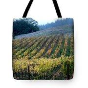 Sonoma County Vineyards Near Healdsburg Tote Bag