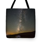 Sonora The Vw Bus Under The Milky Way Tote Bag