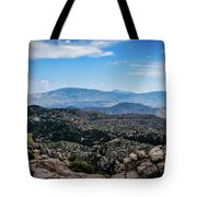 Sonoran Cliff Lookout Tote Bag