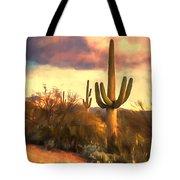 Sonoran Desert Morn Tote Bag
