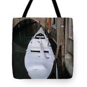 Snowy Gondola  Tote Bag