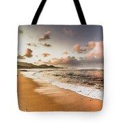 Soothing Seaside Scene Tote Bag