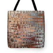 Sophisticated - Abstract Art Tote Bag