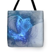 Sorching Blue Heaven Tote Bag