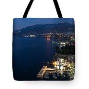 Sorrento Bay At Night Tote Bag