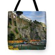 Sorrento Beach Tote Bag