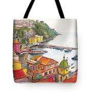 Sorrento Harbour Tote Bag