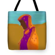 Sorrowful Mother Of The Past And Present Tote Bag