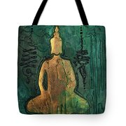 Sotapanna 1 Buddha Painting With Unalome Symbols Tote Bag
