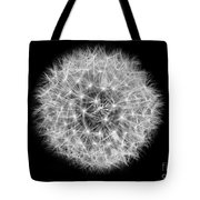 Soul Of A Dandelion Black And White Tote Bag