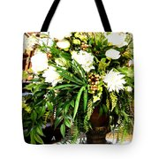 Sound Of Flowers Tote Bag