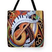 Sound Of Soul Strings Tote Bag