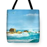 Sound Of Surf Tote Bag