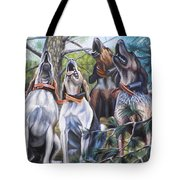 Sound Of The Hound Tote Bag