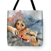 Sound Of Violin... Tote Bag
