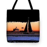Sound Sailin 2 Tote Bag