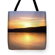 Sound Sunset Tote Bag