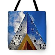 Sound Touches The Sky Tote Bag by Silva Wischeropp