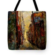 Sounds In The Alley Tote Bag