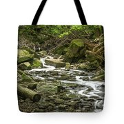 Sounds Of A Mountain Stream Tote Bag