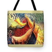 Sounds Of The Shofar Tote Bag