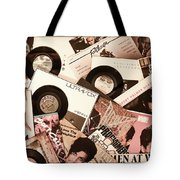 Sounds Of Then - Remembering The 80s I Tote Bag